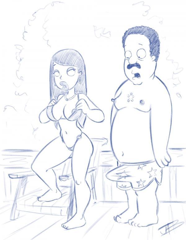 Cleveland Show Roberta Tubbs Porn